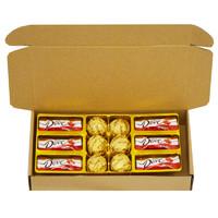 德芙巧克力礼盒装送女友女生创意心形浪漫糖果生日三八妇女节礼物