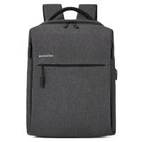 波斯丹顿  男士背包 商务休闲旅行包 15.4寸笔记本电脑包男包潮