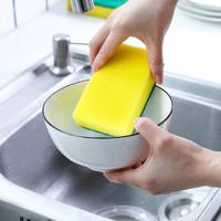 高尊 洗碗海绵百洁布  5个