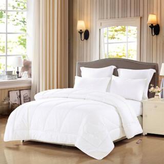 水星家纺羊毛被 舒肤蕾澳洲羊毛抗菌春秋被床上用品 双人加大被子被芯200*230cm