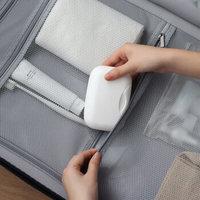 加加林 带盖可携带旅行香皂盒 锁扣便携手工皂盒肥皂盒 塑料 大号颜色随机