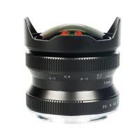 星曜 7.5mm F2.8 鱼眼镜头二代 多卡口可选