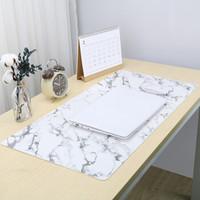 用来当摄影背景桌布很赞-richblue 悦利 双面大理石纹 PU皮革鼠标垫 开箱点评