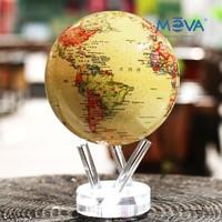 MOVA 光能自转地球仪 6寸 仿古色