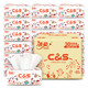 C&S 洁柔 原生木浆抽纸 3层100抽*30包+西麦 燕麦片 175g 44.8元