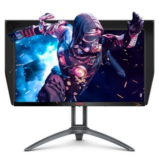 AOC 冠捷 AG273QXP 旋转升降PS4电竞显示器 (27英寸、2560x1440、IPS(Nano)、165Hz)