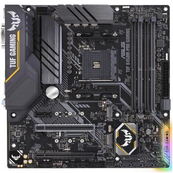 ASUS 华硕 TUF B450M-PRO GAMING +AMD 锐龙5 3500X 处理器 7nm 6核6线程 CPU 板U套装