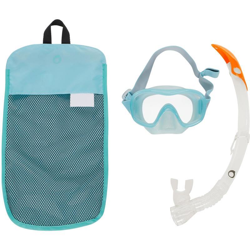 DECATHLON 迪卡侬  8174722 潜水装备浮潜三宝潜水镜呼吸管套装SUBEA