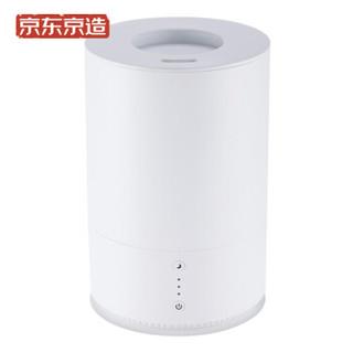 京东京造 超声波加湿器 上加水 自动恒湿 静音卧室办公室空气增湿 家用香薰加湿