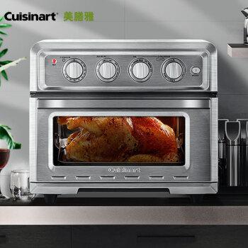 美膳雅(Cuisinart)电烤箱 大容量 吐司机面包机  TOA-60CN