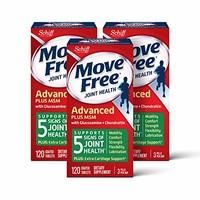 Move Free 益节 葡萄糖胺和软骨素 120粒*3瓶