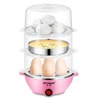 Peskoe 半球 Y-ZDQ1 多功能煮蛋器 3层 粉色