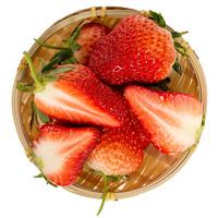 圣野果源 丹东99红颜草莓 1.5kg