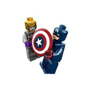 LEGO 乐高 6865 6865 儿童积木拼插玩具 美国队长复仇机车