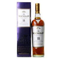 MACALLAN 麦卡伦 18年雪莉桶 43度 威士忌 700ml