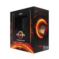 AMD 锐龙 Threadripper 线程撕裂者 3990X 盒装CPU处理器