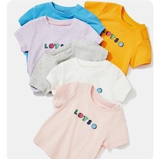 minipeace 太平鸟童装 儿童字母印花T恤