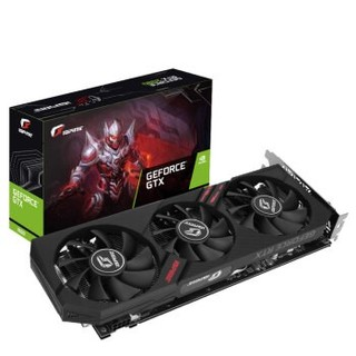 COLORFUL 七彩虹 iGame GeForce GTX 1660 Ultra 显卡 6GB