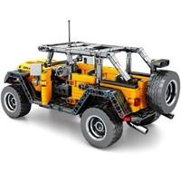 森宝积木 科技机械系列 701601 吉普牧马人 601颗粒