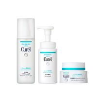 618预售:Curel 珂润 润浸保湿护肤套组(洁面150ml+化妆水150ml+面霜40ml)