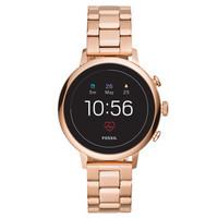 化石(Fossil)手表时尚欧美智能触屏腕表钢带男女 GPS定位心率监测 FTW6018