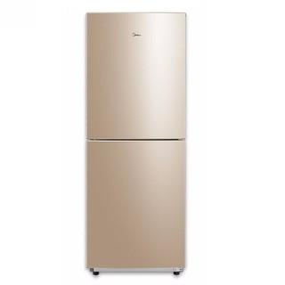 美的(Midea)冰箱双开门直冷 172升小型冰箱双门双温 BCD-172CM(E)芙蓉金