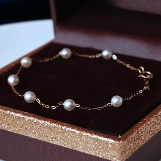 PearlYuumi 優美珍珠 akoya海水珍珠 4-4.5mm
