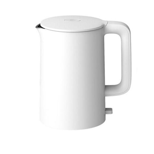 MI 小米 1A 304不锈钢电热水壶 1.5L 白色