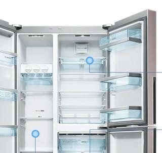BOSCH 博世 BCD-569W(KAF96A66TI) 569L 对开门冰箱