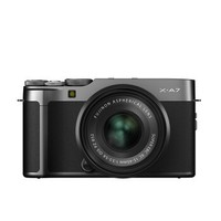 FUJIFILM 富士 X-A7  微单相机 套机(15-45mm) 深灰色