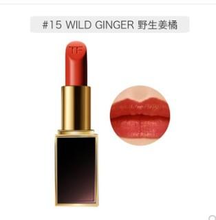 TOM FORD 汤姆·福特 黑金黑管唇膏 #15Wild Ginger 野生姜橘 3g
