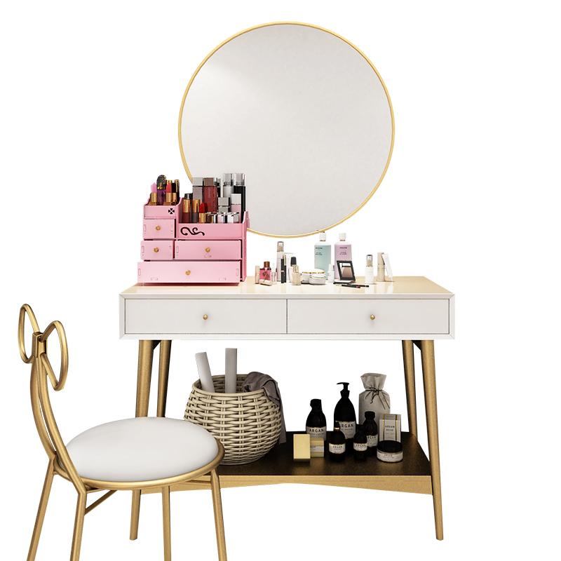 OurLife 梳妆台-11号 北欧实木梳妆台现代简约网红化妆台轻奢迷你小户型卧室ins化妆桌