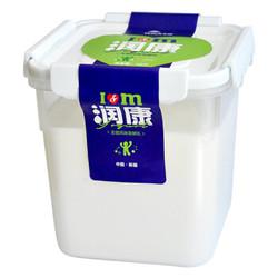天润酸奶_TERUN 天润 润康方桶 老酸奶风味 1kg/盒 *5件-优惠购
