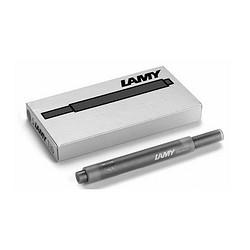 预售:LAMY 凌美 T10 钢笔墨囊 黑色 1盒5支*5盒装