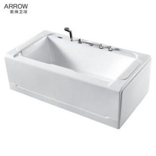 箭牌(ARROW)A1728SQ  箭牌卫浴 亚克力五件套浴缸独立式浴缸  左裙