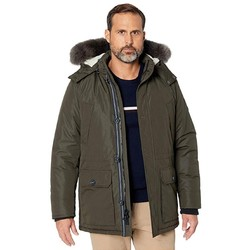 NAUTICA 诺帝卡 Sherpa Lined and Faux Fur Hood 派克大衣