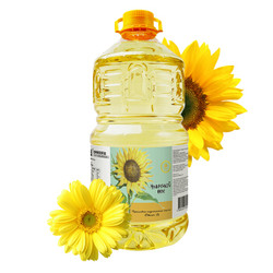 欧洲原装进口 丽兹(LIZZI) 精选系列 压榨葵花籽油 食用油 充氮保鲜 100%物理压榨 5L *2件