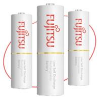 Fujitsu 富士通 5号充电电池 4节 1900毫安 充电器套装