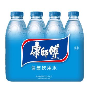 Tingyi 康師傅 包裝飲用水 550ml*12瓶