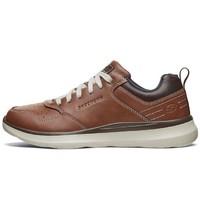 Skechers 斯凯奇 66439-C 男士休闲低帮休闲皮鞋