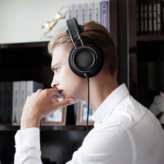 PHILIPS 飞利浦 X2HR 耳罩式头戴式有线耳机 黑色