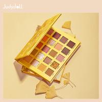 Judydoll橘朵银杏20色眼影盘枫叶珠光哑光细闪亮片新手日常旗舰店