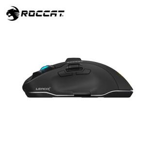 德国冰豹ROCCAT钛鲨豹tyon鼠标(人体工学鼠标 鼠标办公 电竞游戏机械电脑鼠标) LEADR无线+有线双模版(黑色)