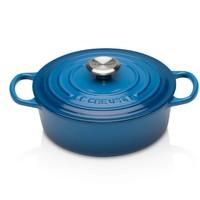 银联专享:Le Creuset 酷彩 Signature 铸铁圆形锅 18cm 蓝色