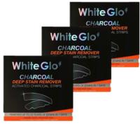 银联专享 : White Glo 活性炭深度去渍美牙贴 7条*3