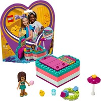 LEGO 乐高 Friends好朋友系列 41384 安德里亚的夏日藏宝盒 *3件