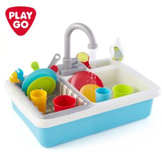 PLAYGO贝乐高 厨房小水池  男孩女孩做饭水槽洗碗池3600 *3件