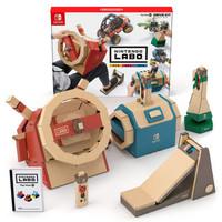 Nintendo 任天堂 Switch纸箱游戏 LABO 海陆空驾驶套装