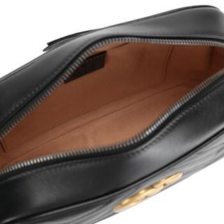 GUCCI 古驰 GG Marmont系列 447632 女士绗缝单肩包 小号