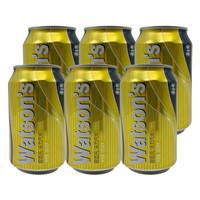 屈臣氏(Watsons) 苏打汽水 碳酸饮料 汤力水330ml*6罐